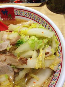 6白菜たっぷり@ラーメン神座(かむくら)