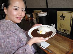 料理:八年カリー食べる@カレー専門店・ボン田中