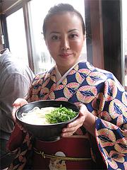 8ランチ:鶏きのこ・大@讃岐うどん大使・福岡麺通団・薬院
