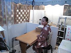 店内:屋外BBQコーナー@ダーチャ・まんぼ亭・赤坂門市場