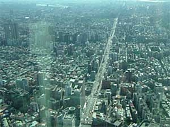 台北101からの眺望