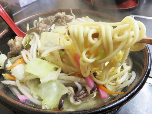 9すじ煮込みチャンポン麺