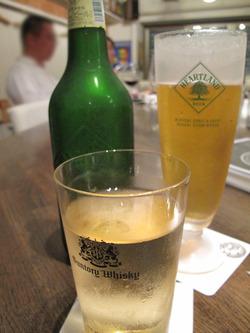 4ビールとハイボール@ビストロタカギ