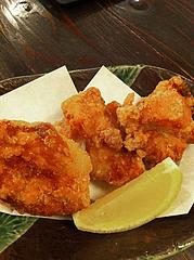 8居酒屋:鶏の唐揚げ@心灯・みなと温泉・波葉の湯・ベイサイドプレイス博多