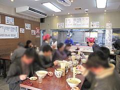5店内:テーブル席@長浜将軍・本店