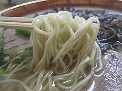 12ランチ:ラーメン麺@ラーメン・天広軒・春日原駅