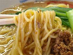 坦々麺の麺@タンタン麺(坦々麺)・ベリー・築港