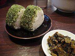 16ランチ:Bセット600円のおにぎり@ラーメンTAIZO(タイゾー)那珂川店