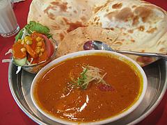 ランチ:キーマエッグカレー@本場インド料理の店D.カジャナ・大手門店
