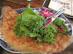 料理:バインセオ小(ベトナムお好み焼き)850円@ベトナムカフェ&レストラン・ゴンゴン