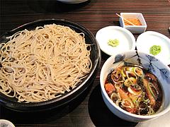 料理:鴨せいろ700円@三ケ森蕎麦・舞鶴
