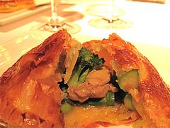 料理:春をくるんだパイのアップ@レストラン花の木・福岡