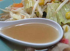 料理:和風ちゃんぽんスープ@うちだ屋・清川