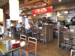 2カウンターテーブル@ウエスト中華麺飯