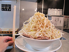 料理:らーめんのサイズ2@らーめん大・福岡大橋店