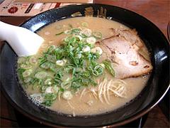 料理:基本の曳き山ラーメン500円@大橋・博多ラーメン一番山
