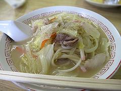 料理:チャンポン500円@あじよし・渡辺通