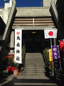 30烏森神社@博多天神・新橋