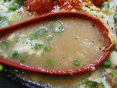 料理:苺一会ラーメンスープアップ1@拉麺空海・雑餉隈駅前店