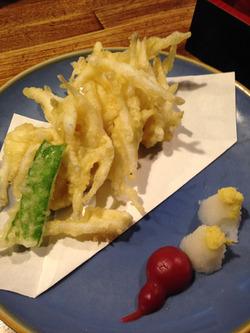 11白魚の天ぷら@おでん三吉