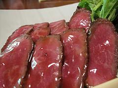 料理:黒毛和牛の温泉蒸しアップ@湯の岳庵・亀の井別荘