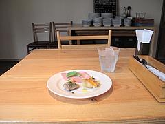 7店内:お一人様テーブル席@イタリアン・カンティーナ・ガシーヨ