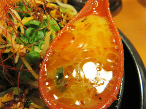 16辛シビ味噌味玉入りスープ@味噌マニアックス