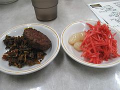 料理:漬物と惣菜@ラーメン居酒屋赤のれん&とん吉・箱崎