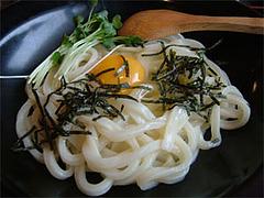 麺屋岩田月見ぶっかけ冷450円@福岡・博多区・住吉