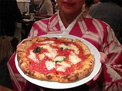 ディナー:マルゲリータ850円@Pizzeria Da Gaetano(ピッツェリア・ダ・ガエターノ)・薬院・福岡