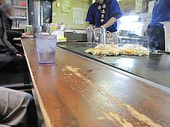 4店内:カウンター席@お好み焼き・ふきや・赤坂店