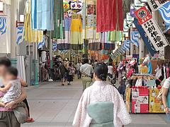 店内:仙台七夕の吹流し@博多川端商店街
