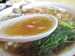 ランチ:醤油ラーメンスープ@本格中華料理・翔悦・樋井川