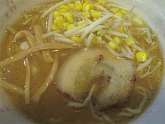 17ランチ:味噌ラーメン@元祖赤のれん・節ちゃんラーメン・野間店