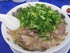 料理:チャーシュー麺750円@ラーメン来来亭・福岡空港東店