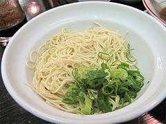 料理:替え玉、カタね♪@琉王・ラーメン・大橋