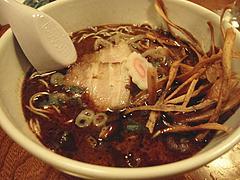 居酒屋:黒こげめん@博多鶏と麺こはる・ラーメン居酒屋