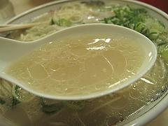 料理:ラーメンスープ@元祖長浜ラーメン・ぶんりゅう