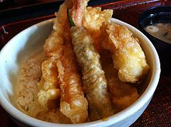4メニュー:特海老天丼アップ@大衆居食家しょうき・長住店