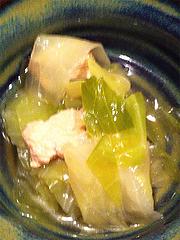 6ランチ:キャベツの煮びたし@海の味有福・サンセルコ