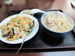 11五目炒飯とミニラーメン@東方餃子房