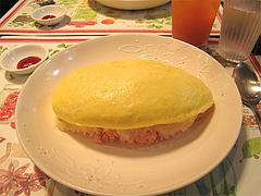 料理:メンオムランチの明太子オムライス@五穀けやき通り店・福岡市中央区赤坂