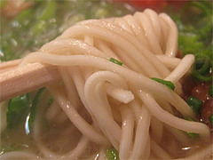 料理:ラーメン麺ばりかた@博多ラーメンばりこて長浜店