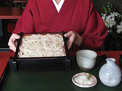 料理:更科そば900円@蕎麦・木曽路・福岡