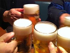 9生ビール390円@居酒屋しょうき・中洲店