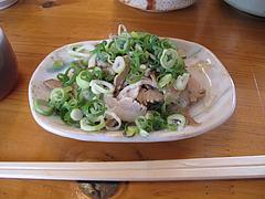 19ランチ:焼豚のきれはし。50円@七福亭ラーメン