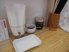 3店内:卓上@うどん大学・赤坂・居酒屋