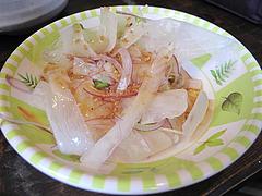 料理:ランチのサラダ@まんぼ亭・赤坂門市場