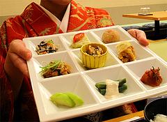 料理:レディースランチだよ♪@京都銀ゆば・アパホテル福岡渡辺通