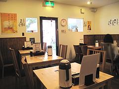 2店内:テーブル席@中華居酒屋・やなぎだ屋・平尾